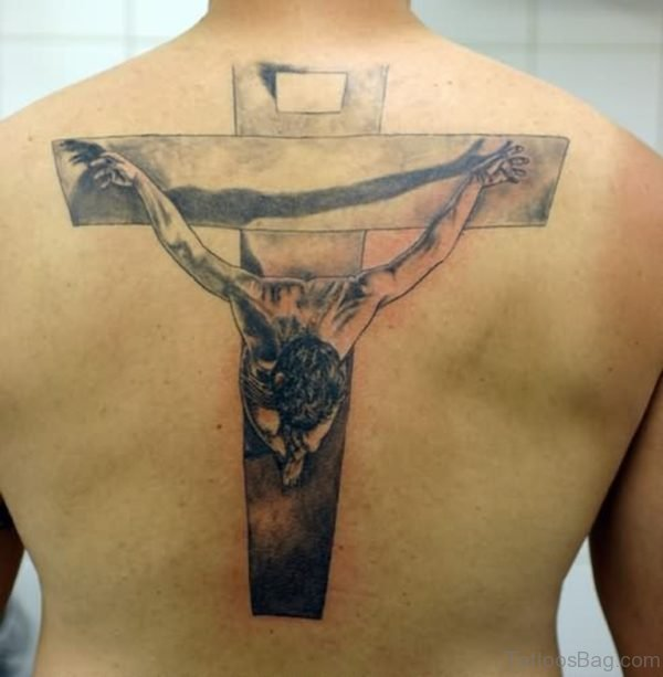 Outstanding  Jesus Tattoo