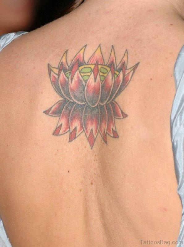 Outstanding Lotus Flower Tattoo