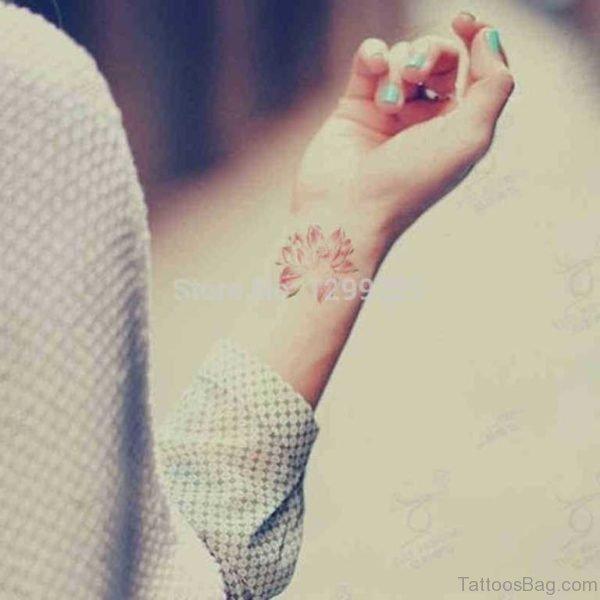 Outstanding Lotus Tattoo