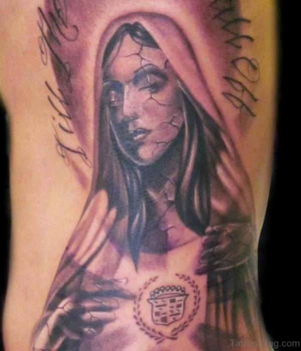 Outstanding Mary Tattoo