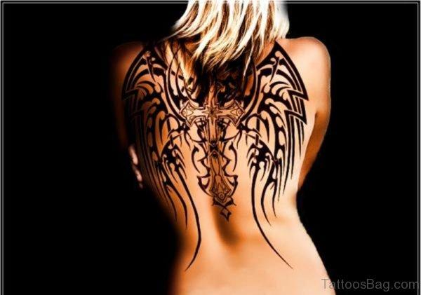 Outstanding Memorial Angel Tattoo