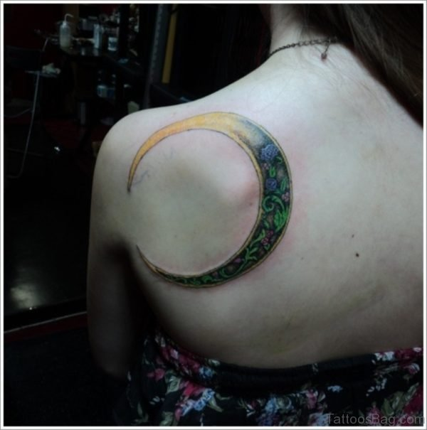 Outstanding Moon Tattoo
