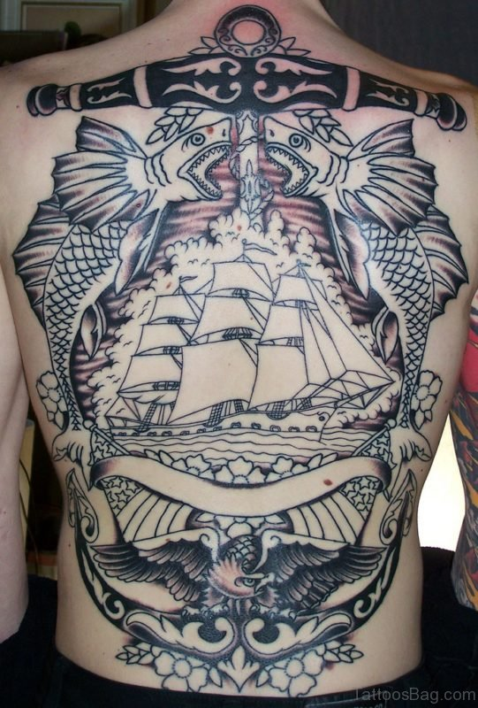 Outstanding Ship Tattoo
