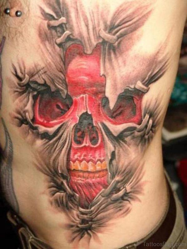 Outstanding Skull Tattoo