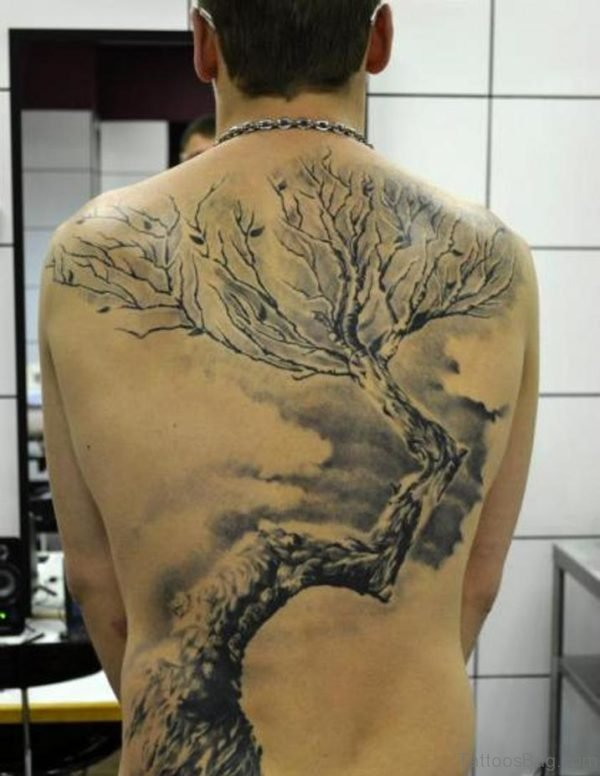 Outstanding Tree Tattoo