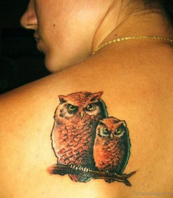 Owl Family Tattoo