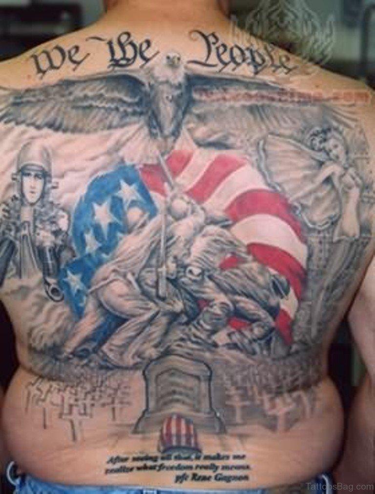 Army Eagle Tattoo Designs