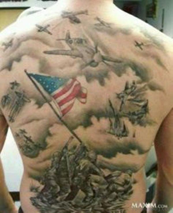 Patriotic Tattoo Design