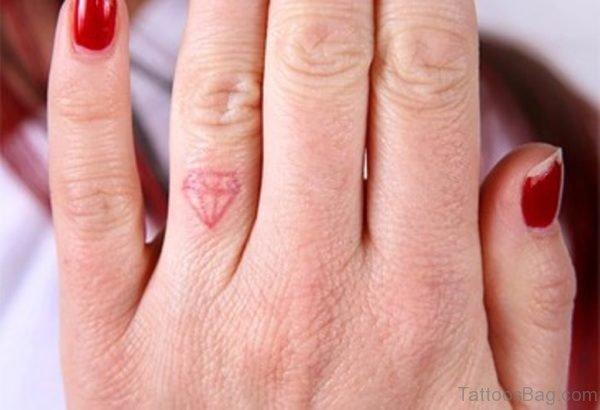 Pink Diamond Tattoo