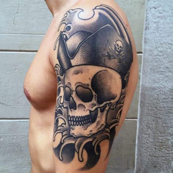 Pirate Flag Tattoo Design
