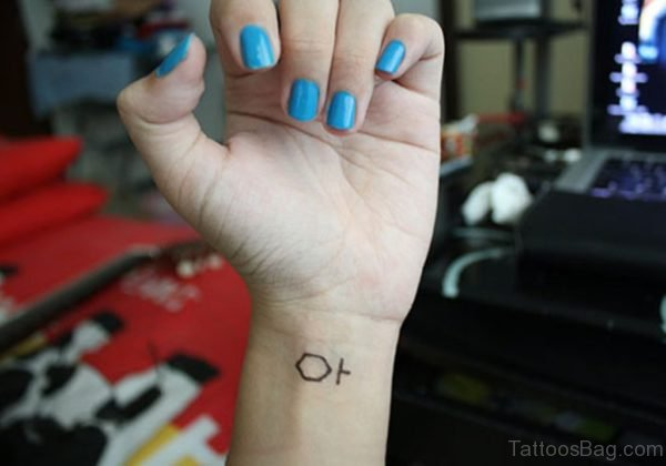 Poly Wrist Tattoo