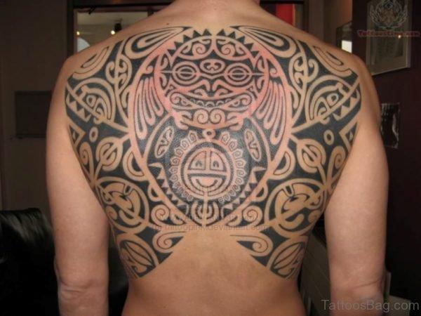 Polynesian Aztec Tattoo