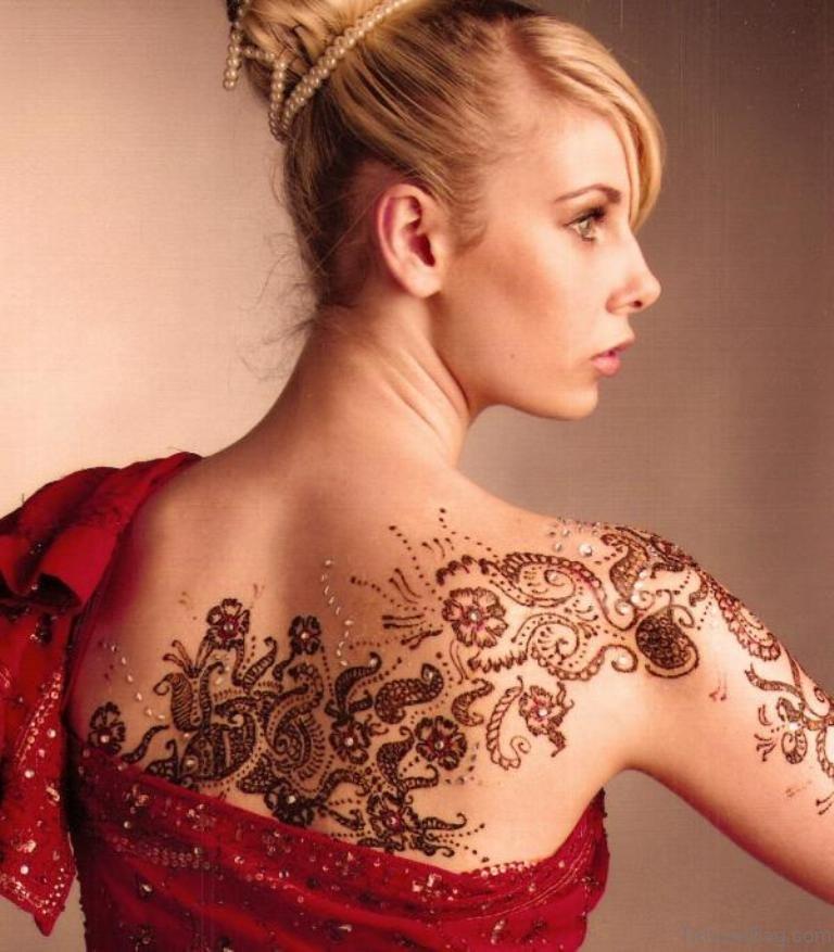 Polynesian Henna Tattoo