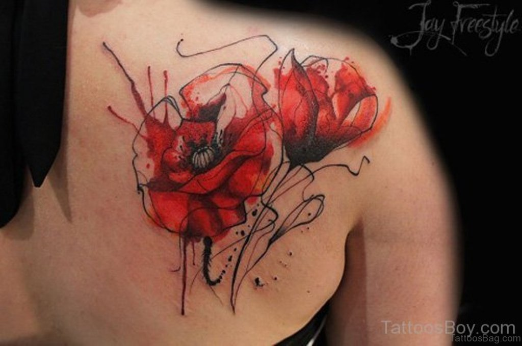 Military Purple Heart Tattoo Designs