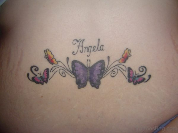 Pretty Butterfly Tattoo