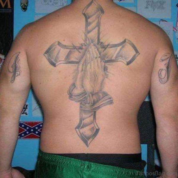 Pretty Cross Tattoo