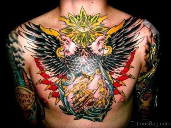 Pretty Eagle Tattoo