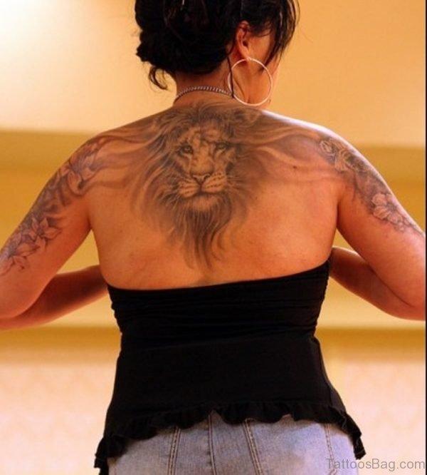 Pretty Lion Tattoo