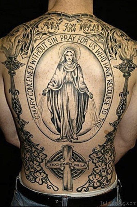 Pretty Religious Tattoo