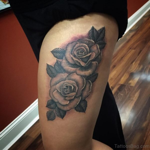 Pretty Rose Tattoo