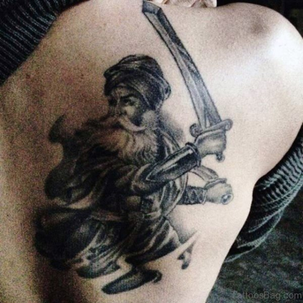 Punjabi Sword Tattoo