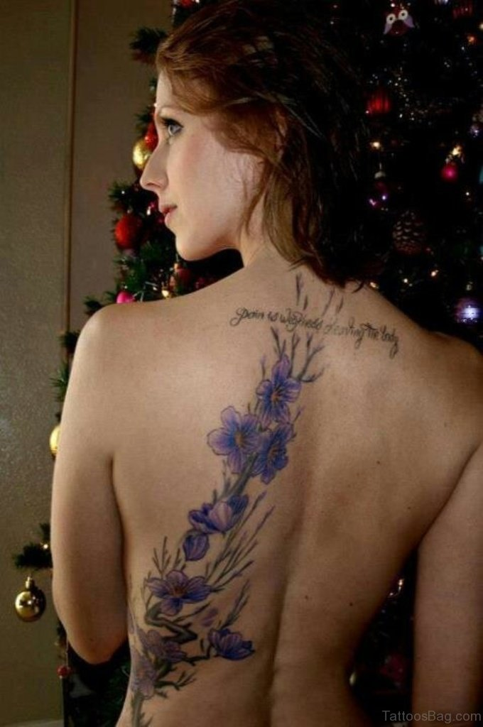 78 Superb Flowers Tattoos For Back Yellow Rose With Butterfly Tattoo