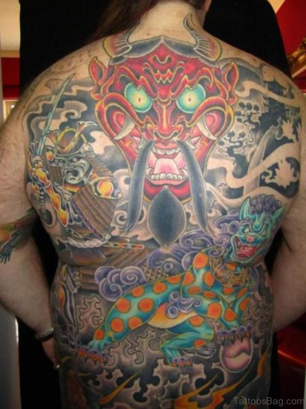 Red Devil Tattoo