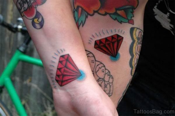 Red Diamond Tattoo