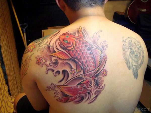 Red Fish Tattoo