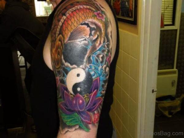 Religious Yin Yang Tattoo