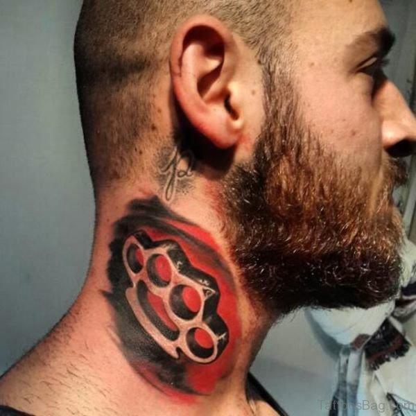 Rip Tattoo On Neck
