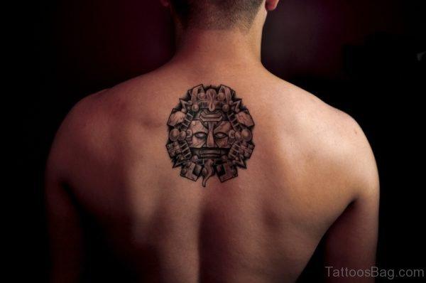 Round Aztec Tattoo