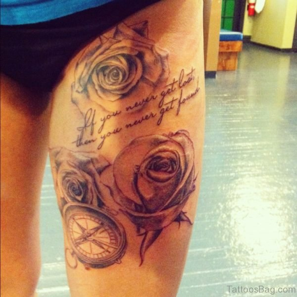 Rose Tattoo Design Image