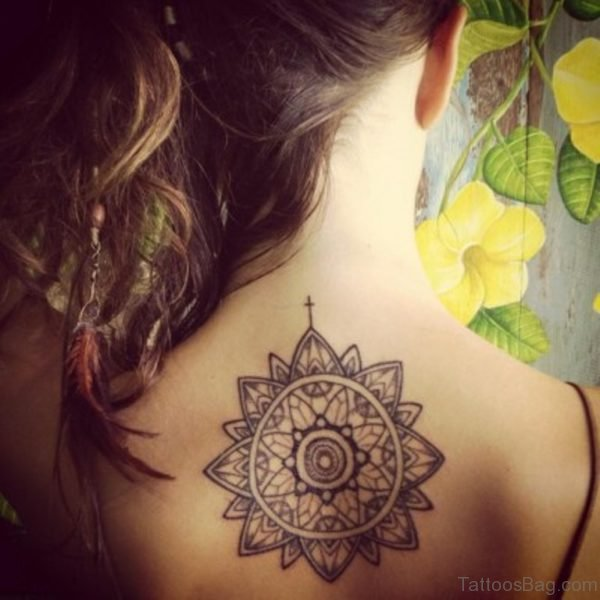 Round Mandala Tattoo Design