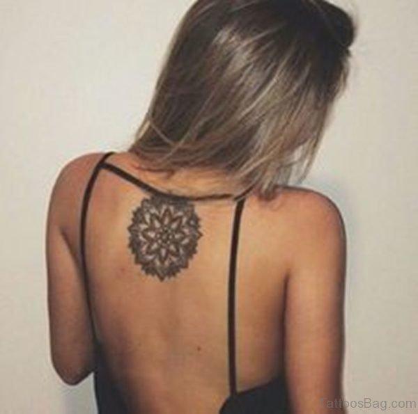 Round Mandala Tattoo