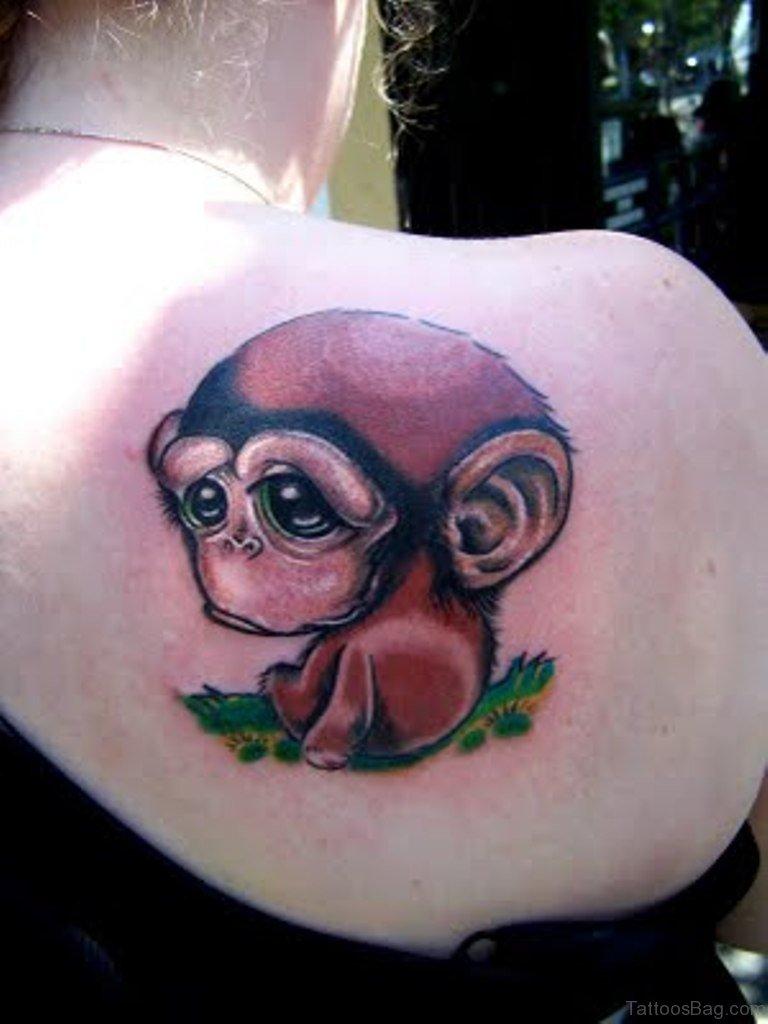 2cf6829be17 49 Excellent Monkey Shoulder Tattoos