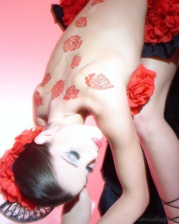 Sara Rose Tattoo