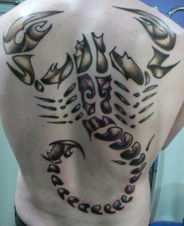 Scorpion Tattoo-Design