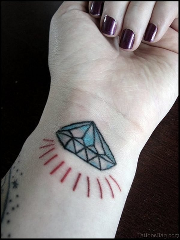 Shining Diamond Tattoo
