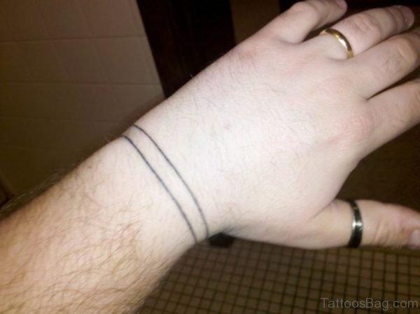 Simple Band Tattoo
