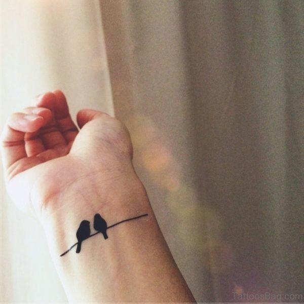 Simple Birds Tattoo