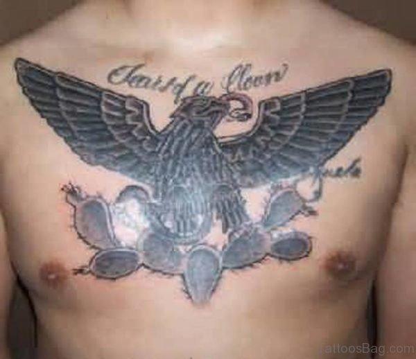 Simple Eagle Tattoo