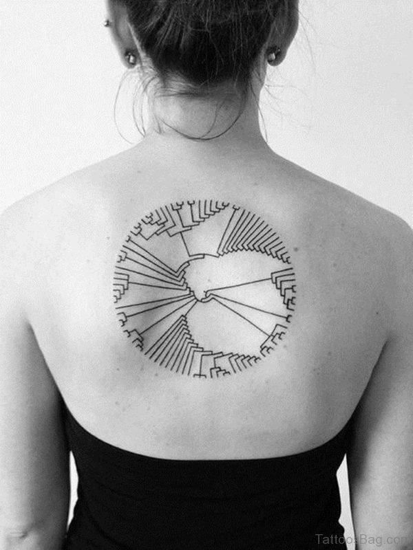 Simple Geometric Tattoo