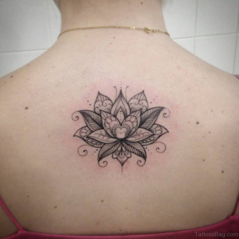 the gallery for gt black lotus mandala tattoo