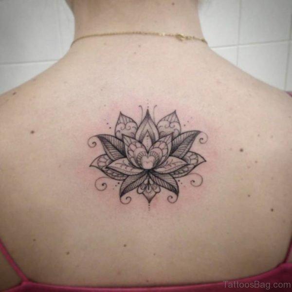 Simple Lotus Flower Tattoo