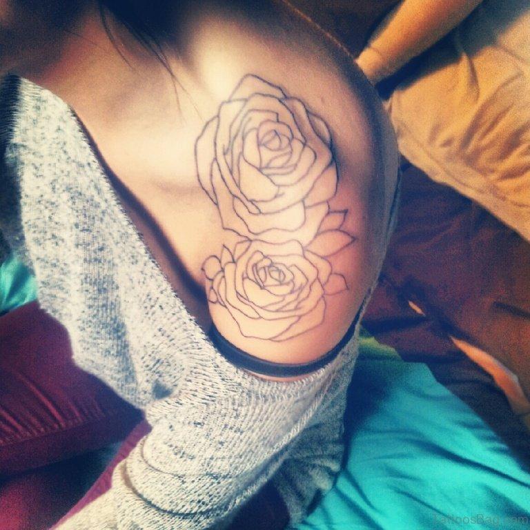57 Pleasant Black Rose Tattoo Designs,Solution Design Group