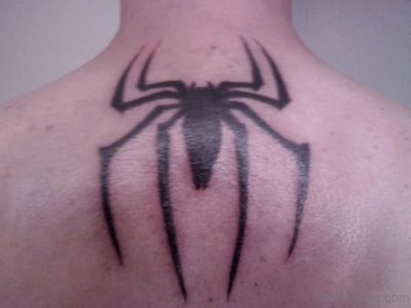 Simple Spider Tattoo