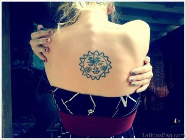 Simple Sun Tattoo
