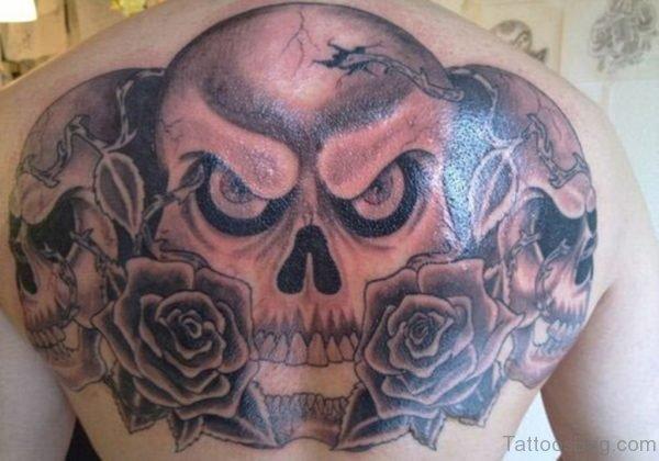 Skull Head Tattoo