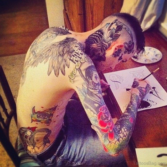 101 Lion Tattoo Designs For Boys And Girls To Live Daring: 60 Wonderful Back Tattoos For Boys